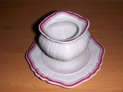 Antik porcelán cukortartó (11/d)
