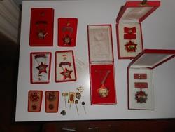 Szocialista kitüntetések