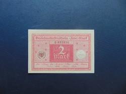 2 márka 1920 Németország Hajtatlan bankjegy