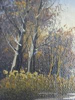 Kettő darab antik angol  festmény párban eladó