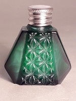 Malachit üveg parfümös  darabra