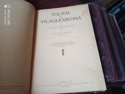 TOLNAI ÚJ VILÁGLEXIKONA VII. KÖTET HIT - JÓS 1927