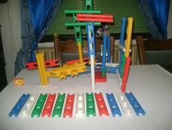 RETRO műanyag építő játék