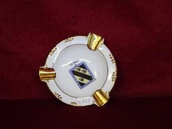 EIGL porcelán Ausztria, GHÜND N.O reklám hamutál. Átmérője: 9,5 cm.