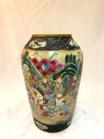 Kézi festett kínai porcelán váza
