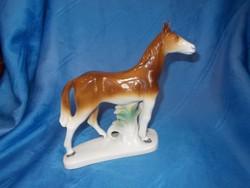 Régi német grafenthal porcelán ló figura