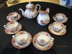 Régi Villeroy&Boch 6 személyes teáskészlet szép állapotban
