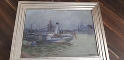 Lakatos Artúr - Hadifogoly szállító hajó