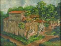 0Y228 Magyar festő XX. század : Major az erdőben