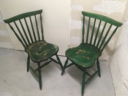 2 db régi fa szék