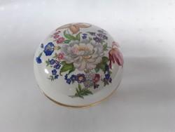2859- Zsolnay virágos bonbonier