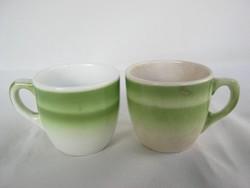 Gránit kerámia retro bögre kávés csésze pár
