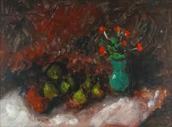 0Y225 Magyar festő XX. század : Asztali csendélet