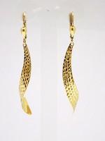 Lógós arany fülbevaló (ZAL-Au83870)