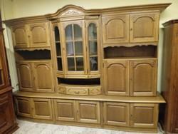 Tölgyfa frontos szekrénysor