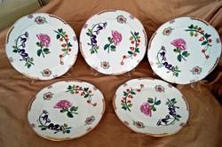 Herendi Windsor mintás 5 db lapos tányér