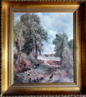 John Constable:  Cornfield