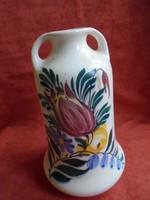 Érdekes városlődi(?) porcelán váza