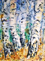 Imre István 77 x 57 cm-es csodálatos akvarellje