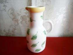 Herendi Elizabeth Barrett Roache majolika, kerámia kancsó váza 15 cm magas