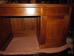 Art-deco íróasztal felújítva