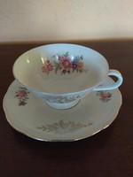 Bavaria porcelán csésze kistányérral