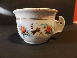 Antik koma csésze v. bögre ,kézi festett,ritkább típus
