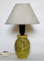 Retro kerámia asztali lámpa.
