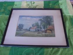 Akvarell vágható keretben