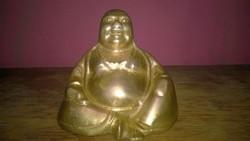 Pici , réz Budha szobor , polcdísz