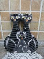 Kertész Klára Macskás Falikép