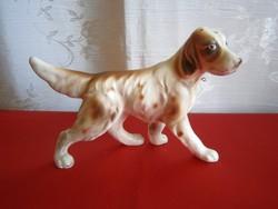 Különleges tojáshéj porcelán jelzett Japán kutya