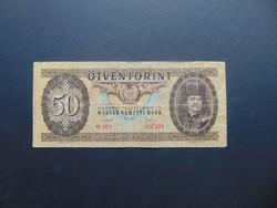 50 forint 1951 Rákosi címer RITKA !