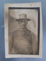 Régi fotó vintage férfi fénykép