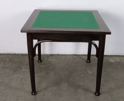 0A008 Antik felújított thonet kártyaasztal