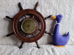19129A Hajókormány alakú Fishcer barométer