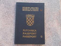 Horvát útlevél