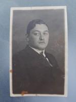 Régi fotó vintage férfi fénykép 1928