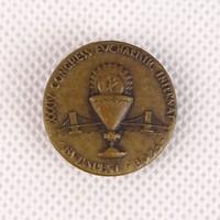 0T993 34. Eucharisztikus Világkongresszus jelvény