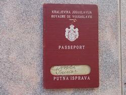 Judaika,Régi Jugo Kiralyság útlevél