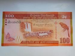 Sri lanka 100 rupees 2015 UNC