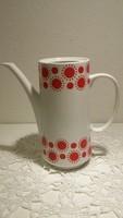 Alföldi porcelán, alföldi  kávés kanna,  centrum varia napocskás kávé kiöntő,
