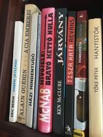 9 db könyv egyben - Egészség, háztartás, regény, ponyva, otthon