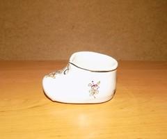 Balatonalmádi emlék porcelán cipő (1/K)
