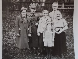 Régi fotó csoportkép vintage fénykép katona 1939