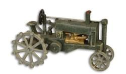 Öntöttvas traktor modell