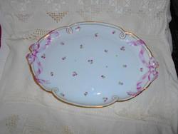 Ó herendi  (Címeres) jelzéssel porcelán pecsenyés tál
