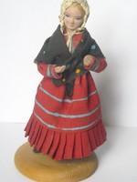 Régi lengyel népművészeti baba