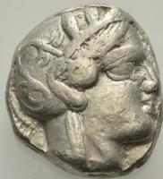 Attika Athén ezüst Tetradrachma   16,96g,  22mm
