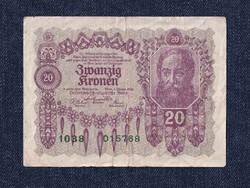 Ausztria 20 Korona 1922 / id 10744/